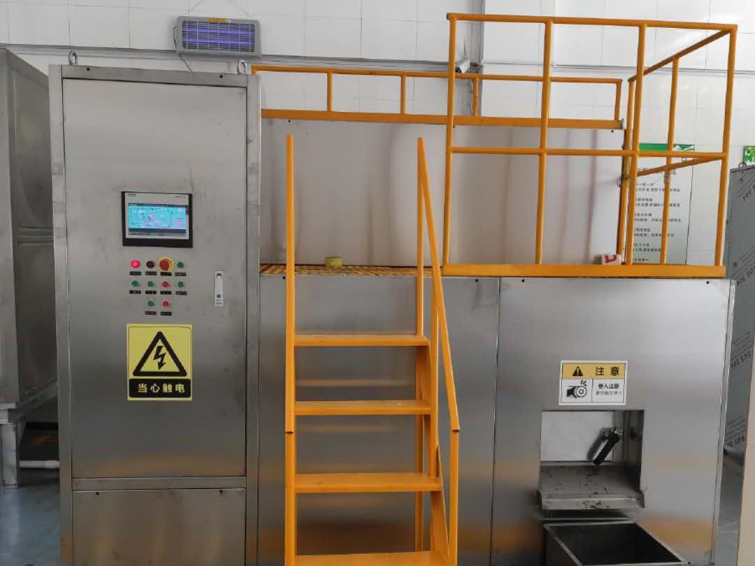 大连森林动物园500kg/D厨余机设备