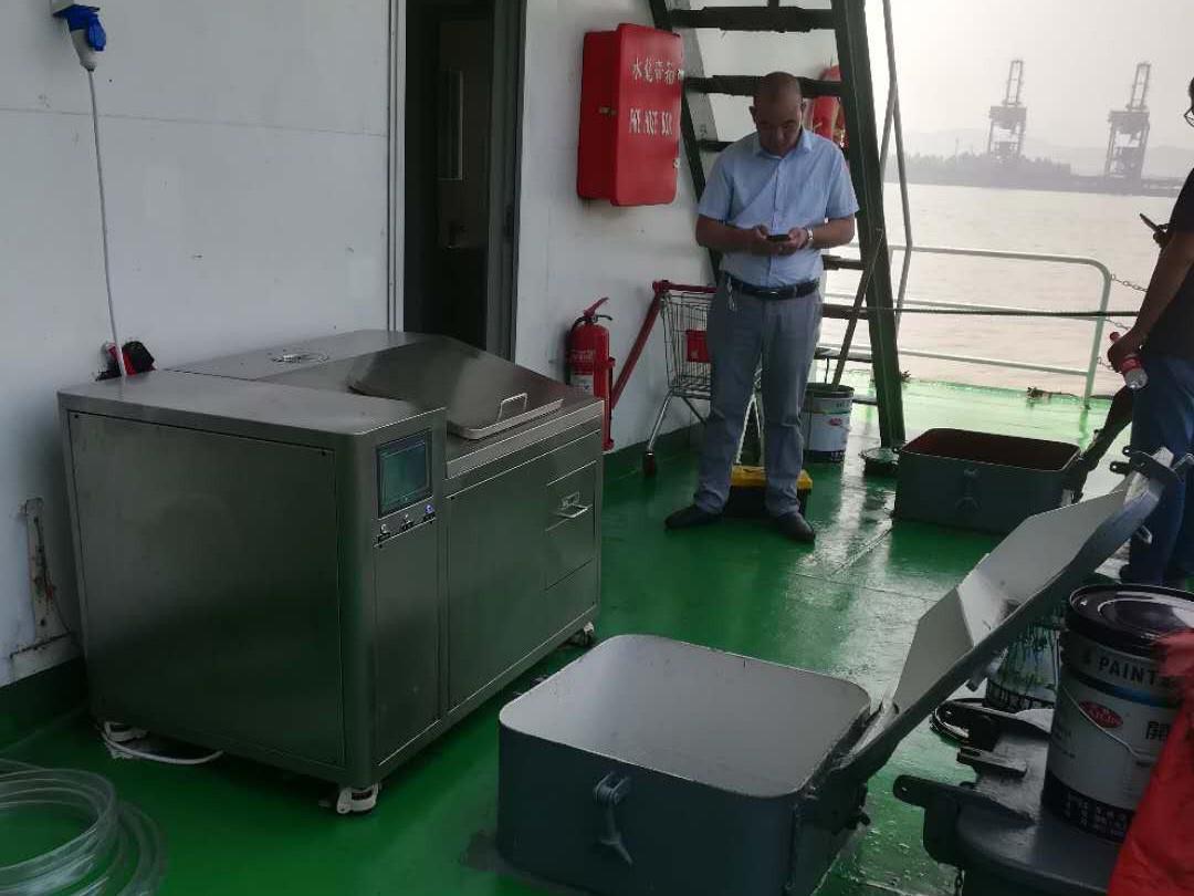 兆基石油50kg/D厨余机设备