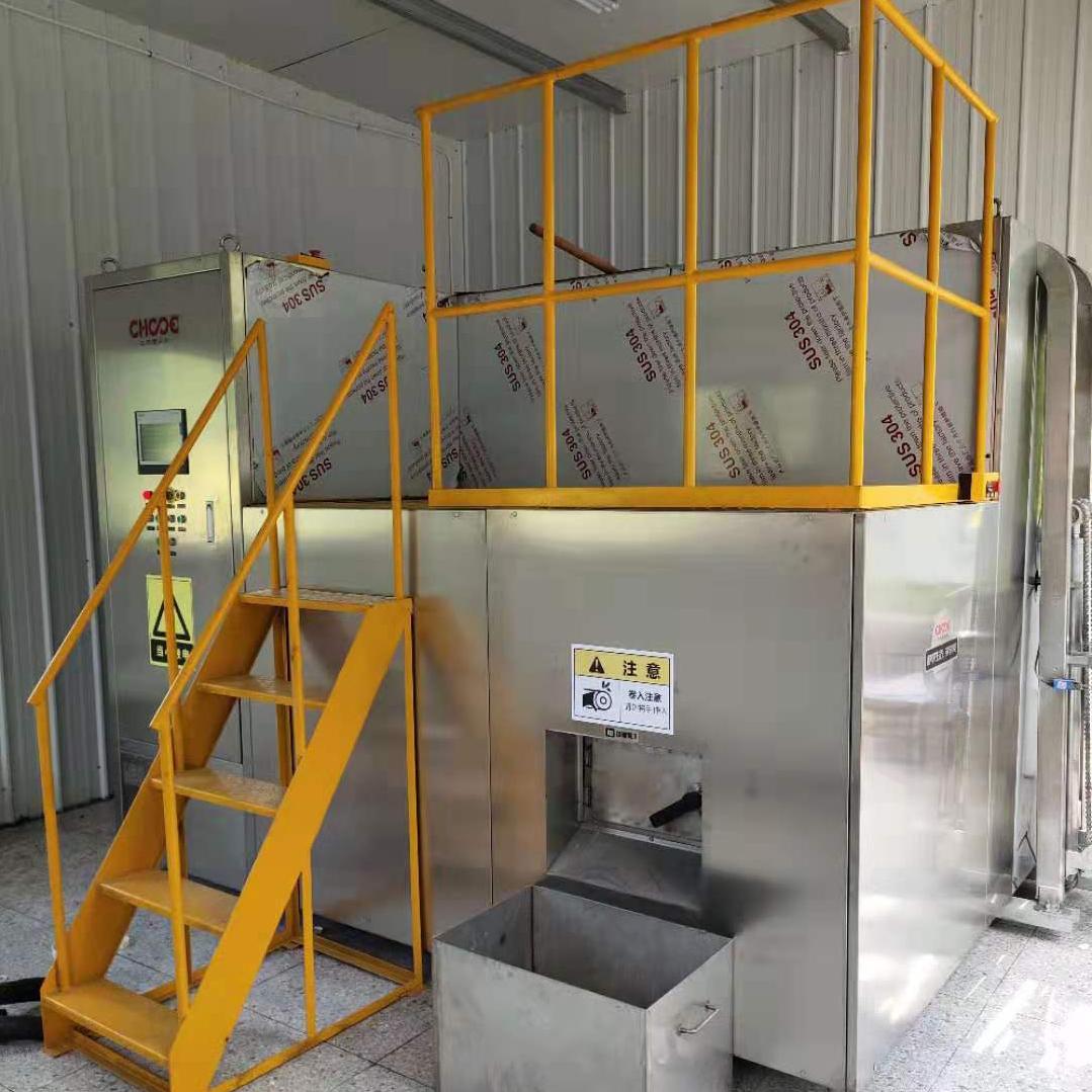 光大集团500/d厨余机设备